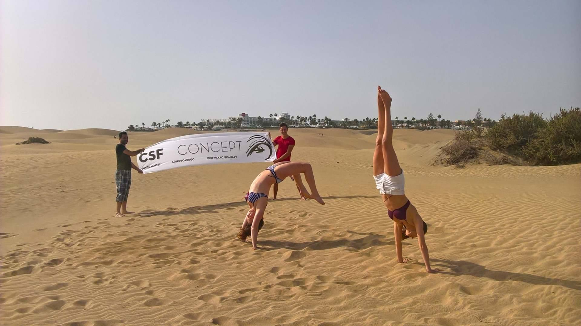 CSF CONCEPT ON THE DUNES